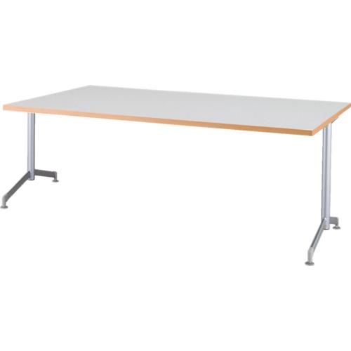 【直送】【代引不可】IRIS(アイリスチトセ) リフレッシュテーブル フーク T字脚 1500X750 ホワイト CFKTT1575G-W