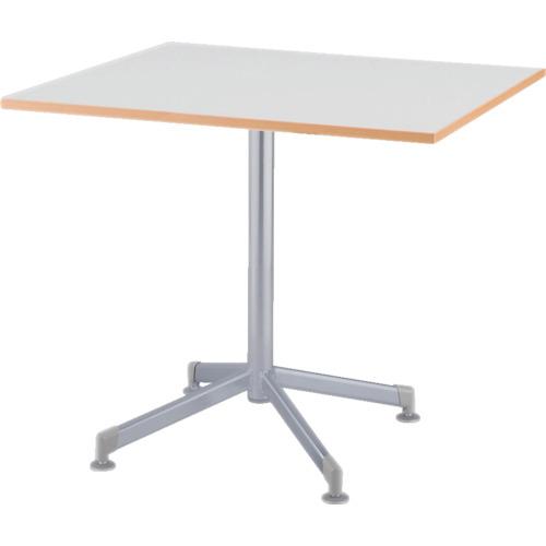 【直送】【代引不可】IRIS(アイリスチトセ) リフレッシュテーブル フーク 十字脚 600X750 ホワイト CFKTX6075G-W