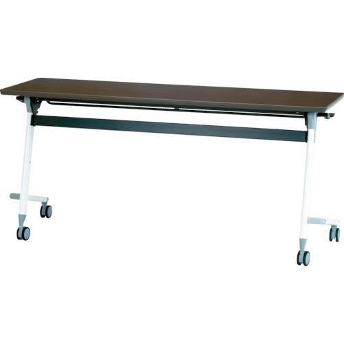 【直送】【代引不可】IRIS(アイリスチトセ) フライングテーブル 1500X450X700 アルビナウッド CFVA10-AW