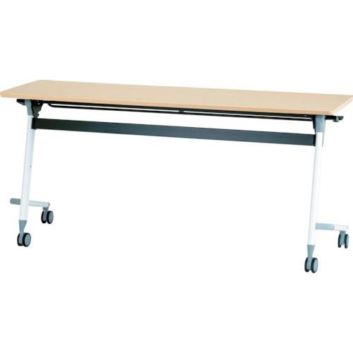 【直送】【代引不可】IRIS(アイリスチトセ) フライングテーブル 1500X450X700 シルクウッド CFVA10-SW