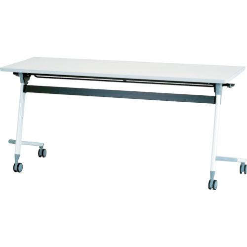 【直送】【代引不可】IRIS(アイリスチトセ) フライングテーブル 1500X600X700 ホワイト CFVA20-W