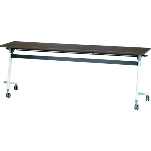 【直送】【代引不可】IRIS(アイリスチトセ) フライングテーブル 1800X450X700 アルビナウッド CFVA30-AW