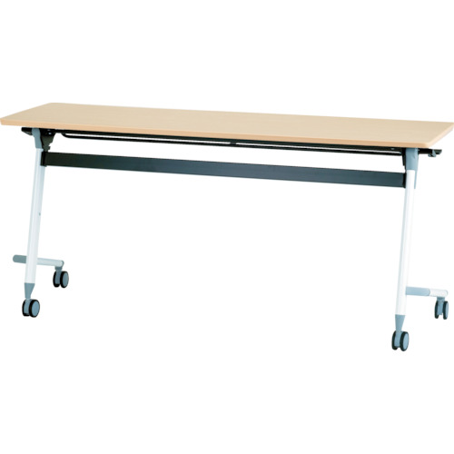 【直送】【代引不可】IRIS(アイリスチトセ) フライングテーブル 1800X450X700 シルクウッド CFVA30-SW