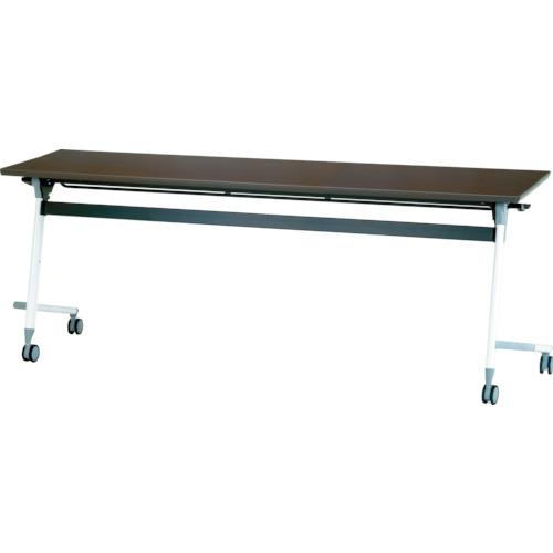 【直送】【代引不可】IRIS(アイリスチトセ) フライングテーブル 1800X600X700 アルビナウッド CFVA40-AW