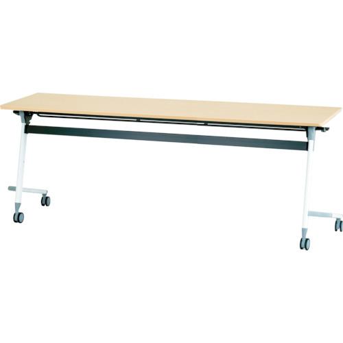【直送】【代引不可】IRIS(アイリスチトセ) フライングテーブル 1800X600X700 シルクウッド CFVA40-SW