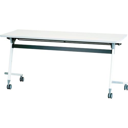 【直送】【代引不可】IRIS(アイリスチトセ) フライングテーブル 1800X600X700 ホワイト CFVA40-W