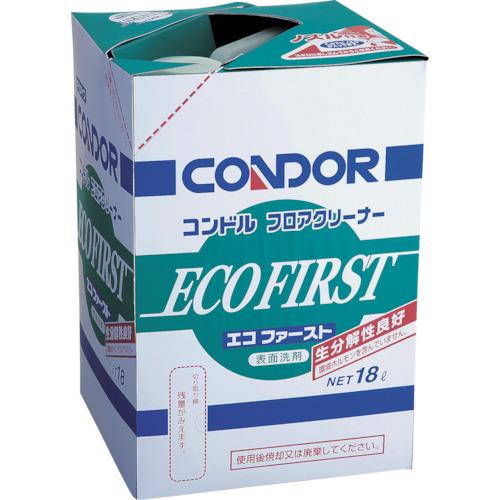 【直送】【代引不可】コンドル(山崎産業) 床用洗剤 フロアクリーナー エコファースト 18L CH-525-18LX-MB