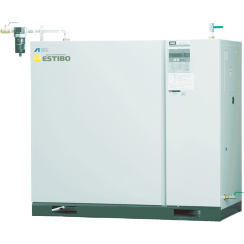 【直送】【代引不可】アネスト岩田 オイル式ブースターコンプレッサー 7.5KW 50HZ CLBS75C-30M5