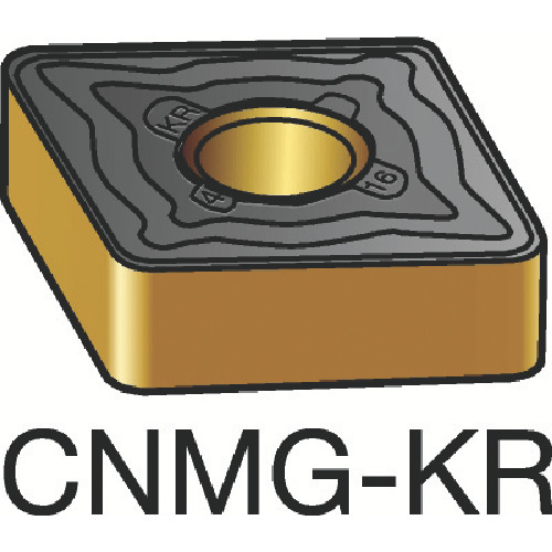 サンドビック T-Max P 旋削用ネガ・チップ 3205 10個 CNMG 19 06 12-KR 3205
