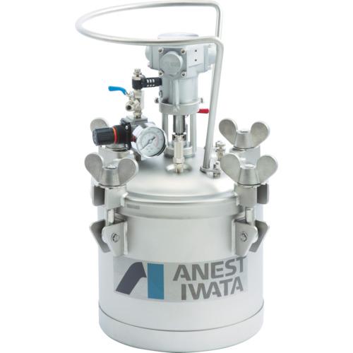 【直送】【代引不可】アネスト岩田 加圧タンク(ステンレス製、自動撹拌式) 10L COT-10ML