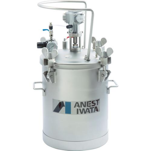 【直送】【代引不可】アネスト岩田 加圧タンク(ステンレス製、自動撹拌式) 20L COT-20ML