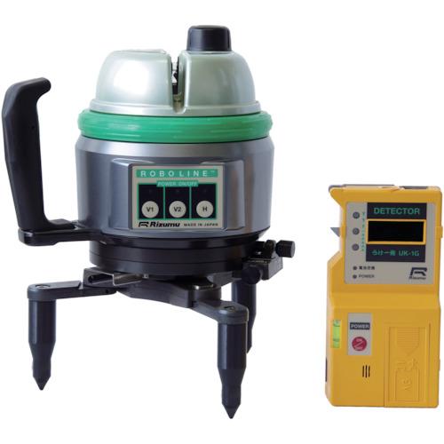 【直送】【代引不可】リズム ロボライン(グリーンレーザー)受光器(UK-1G)セット CP-S81G-UK-1G