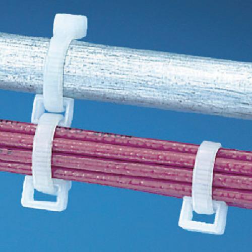 パンドウイット 連結リング固定具(密閉型) ナチュラル 2.3~7.6mm CR4H-M