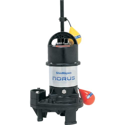 【直送】【代引不可】新明和工業 高機能樹脂ポンプ 160L/min 全揚程6.8m 50/60HZ 200V CRS501D-F50-0.75