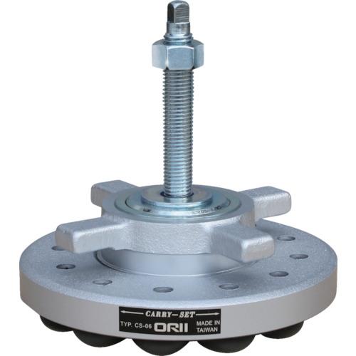 オリイメック キャリセット移動式防振装置 許容荷重600kg CS-06