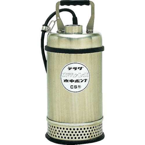 寺田ポンプ製作所 ステンレス水中ポンプ 180L/min 全揚程11.0m 50Hz 200V CS-750 50HZ