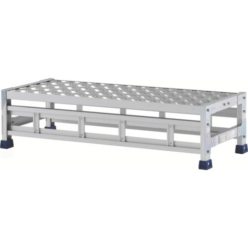 【直送】【代引不可】ALINCO(アルインコ) 作業台(天板縞板タイプ) 1段 1000X400XH0.25m CSBC121S