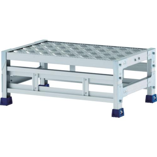 ALINCO(アルインコ) 作業台(天板縞板タイプ) 1段 600X400XH0.25m CSBC126S