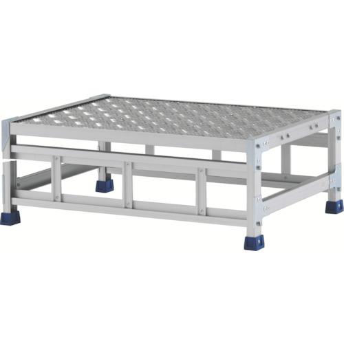 【直送】【代引不可】ALINCO(アルインコ) 作業台(天板縞板タイプ) 1段 800X600XH0.3m CSBC138WS