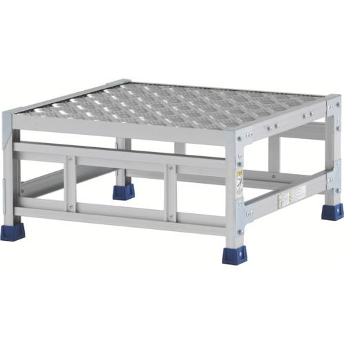【直送】【代引不可】ALINCO(アルインコ) 作業台(天板縞板タイプ) 1段 600X600XH0.3m CSBC13WS