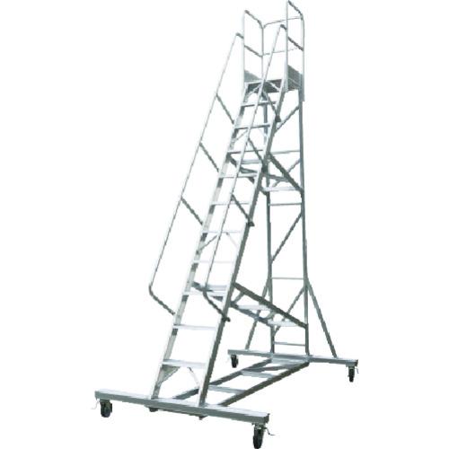 【直送】【代引不可】ALINCO(アルインコ) 移動式作業台 天板高さ2.36m 最大使用質量120kg CSD240ASS