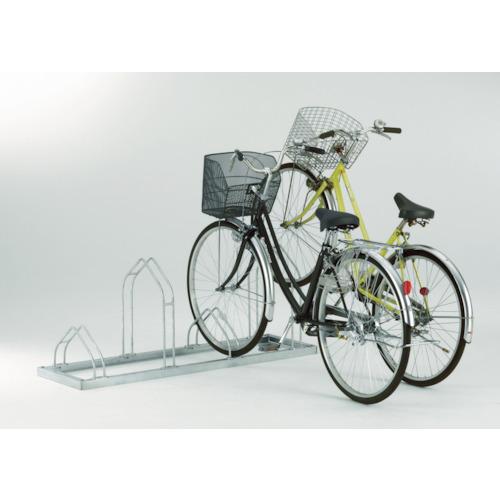 【直送】【代引不可】ダイケン 平置き自転車ラック前輪差込式サイクルスタンド 4台収容 ピッチ400 CS-M4