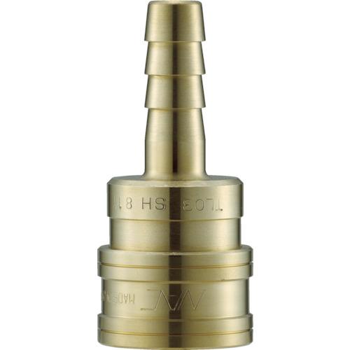 ナック(長堀工業) クイックカップリング TL型 真鍮 ホース取付用 CTL16SH2
