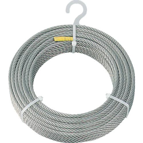 TRUSCO(トラスコ) ステンレスワイヤロープ φ8.0mmX50m CWS-8S50