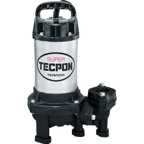 寺田ポンプ製作所 汚物混入水用水中ポンプ 非自動 120L/min 全揚程4.0m 60Hz 200V CX-250T 60HZ