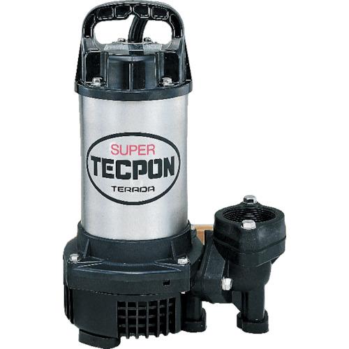 寺田ポンプ製作所 汚物混入水用水中ポンプ 非自動 150L/min 全揚程5.5m 60Hz 100V CX-400 60HZ