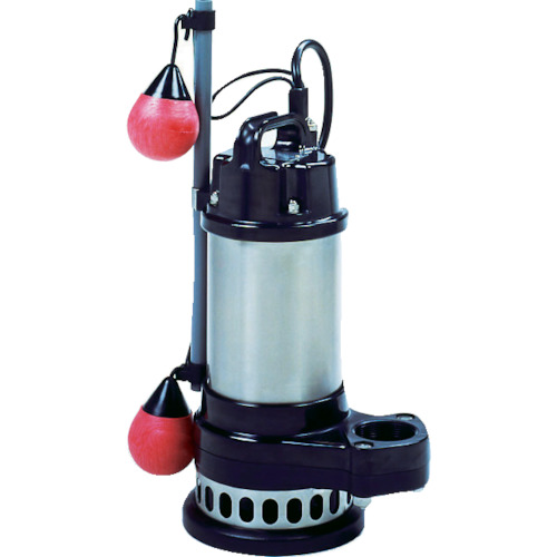 寺田ポンプ製作所 汚物混入水用水中ポンプ 自動 240L/min 全揚程7.0m 60Hz 200V CXA-750 60HZ