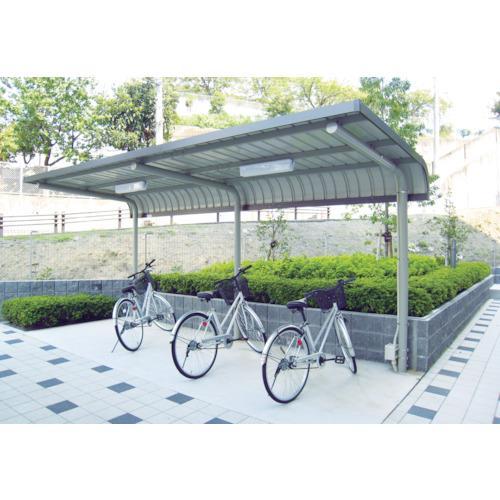 【直送】【代引不可】ダイケン 自転車置場サイクルロビー 基準型スチール 間口2550 CY-LSE25G
