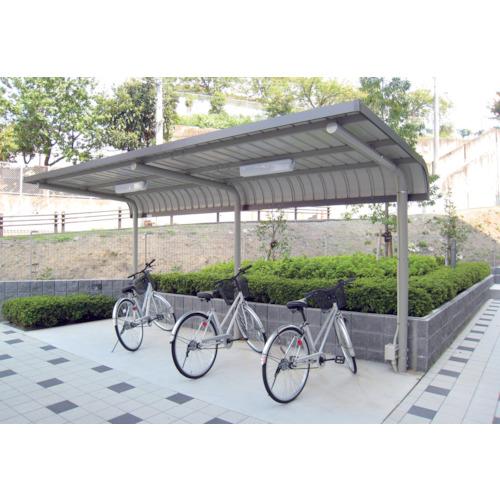 【直送】【代引不可】ダイケン 自転車置場サイクルロビー 連結型スチール 間口2550 CY-LSER25G