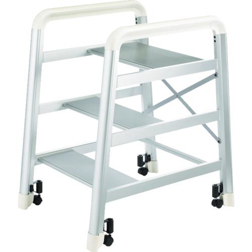 ハセガワ(長谷川工業) アルミ製組立式踏台 DE型 3段 シルバー DE2.0-3S