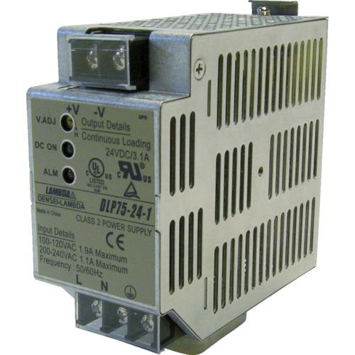 TDKラムダ FA用DINレール取り付けAC-DC電源 DLPシリーズ 100 DLP100-24-1