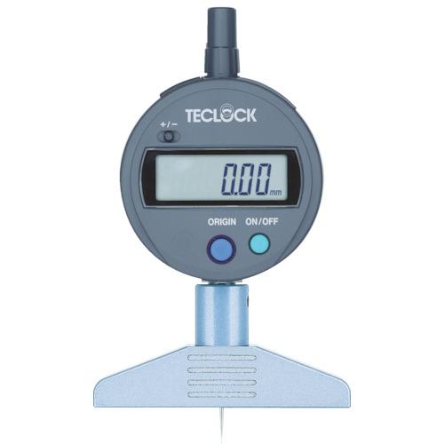 テクロック デジタルデプスゲージ 12mm DMD-210S2
