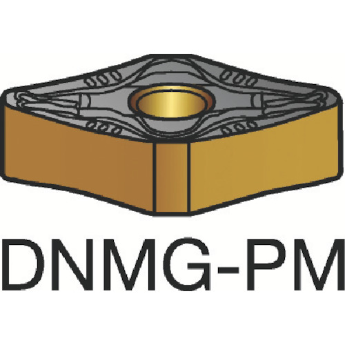SANDVIK(サンドビック) T-Max P 旋削用ネガ・チップ 4235 COAT 10個 DNMG110408-PM