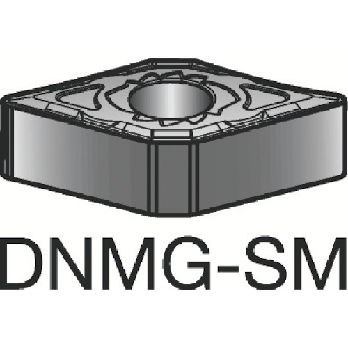 サンドビック T-Max P 旋削用ネガ・チップ 1115 10個 DNMG 15 04 04-SM 1115