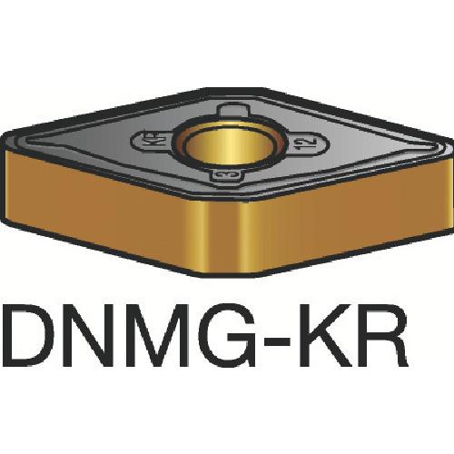 サンドビック T-Max P 旋削用ネガ・チップ 3215 10個 DNMG 15 04 12-KR 3215