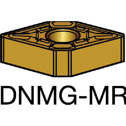 SANDVIK(サンドビック) T-Max P 旋削用ネガ・チップ 2035 COAT 10個 DNMG 15 06 16-MR 2035