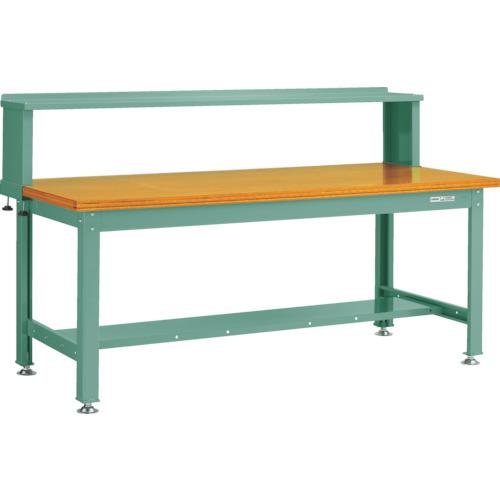 品質満点 中量2000kg作業台 DW-1809YURB:工具屋のプロ 合板天板 1800X900 上棚付 店 【直送】【】TRUSCO(トラスコ)-DIY・工具