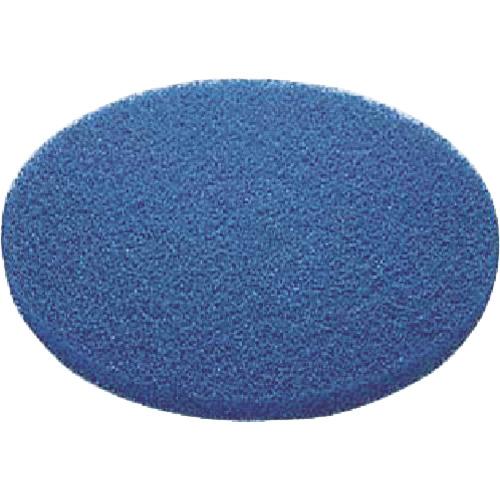 コンドル(山崎産業) ポリシャー用パッド 51ラインフロアパッド 9インチ 青(表面洗浄用) E-17-9-BL