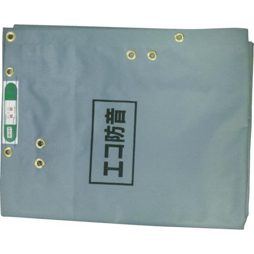 萩原工業 エコ防音シート 1.8X3.4m グレー ECOBOUON1834
