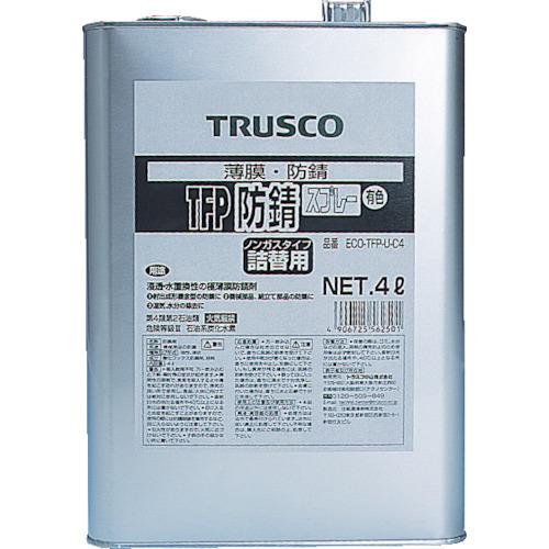 TRUSCO(トラスコ) TFP防錆ノンガススプレー 有色 詰替用 4L ECO-TFP-U-C4