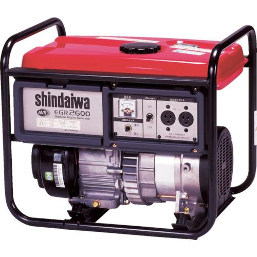 【直送】【代引不可】新ダイワ(やまびこ) オープン型ガソリン発電機 60HZ 2.6kVA(交流専用) EGR-2600B