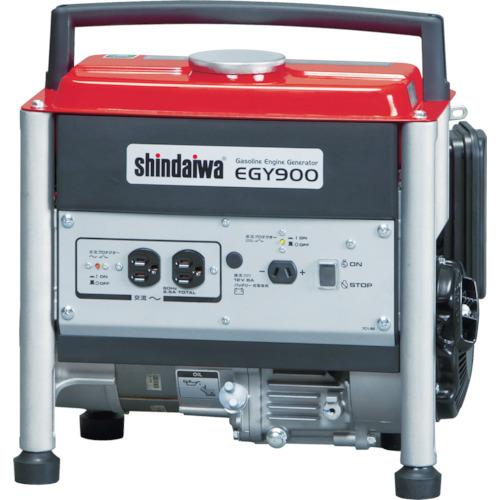 【直送】【代引不可】新ダイワ(やまびこ) ガソリンエンジン発電機 0.7KVA 50HZ EGY900A