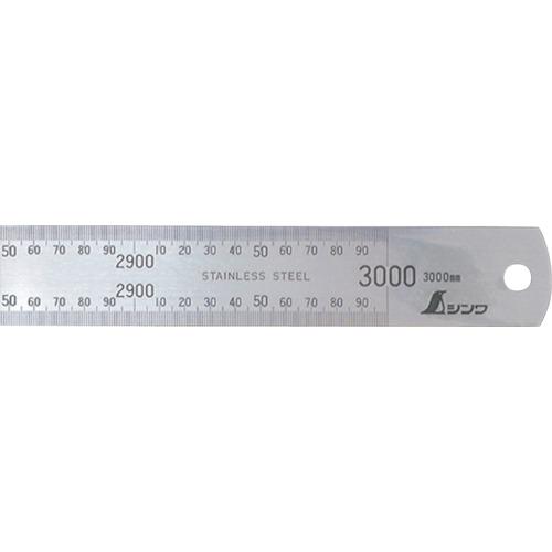 【直送】【代引不可】シンワ測定 直尺ステン 3000mm 14079
