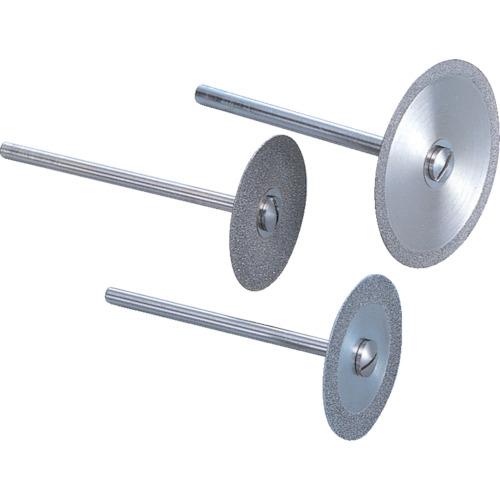 ナカニシ ダイヤモンドカッティングディスク 電着タイプ シャンク径φ3 14081