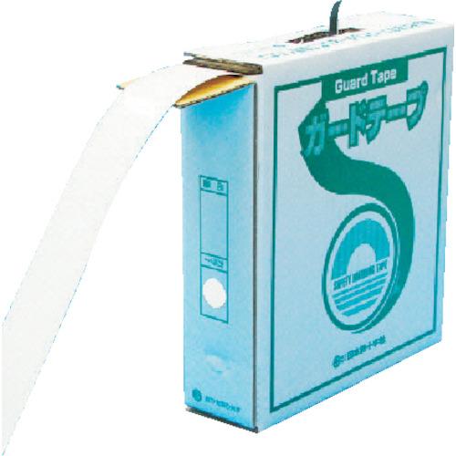 緑十字 ガードテープ GTH-501 再剥離 50mm幅X100m 白色 149031