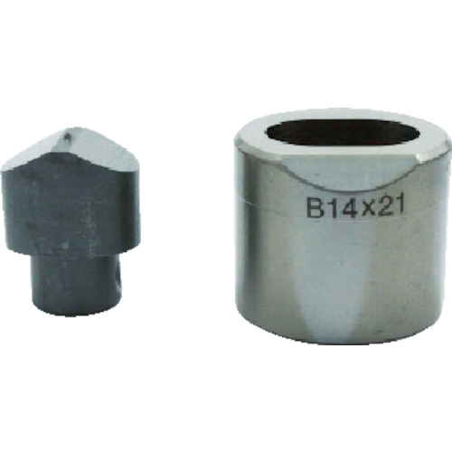 育良精機 フリーパンチャー替刃 IS-BP18S・IS-MP18LE用 長穴14X21mm 14X21B